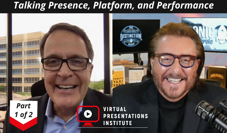 Part 1 of 2: The Art & Science of High Impact Virtual Presentation Delivery